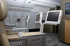 波音777-200LR公务舱