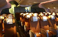 波音777-200LR经济舱