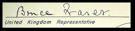 组图:日本投降书全文及代表签字