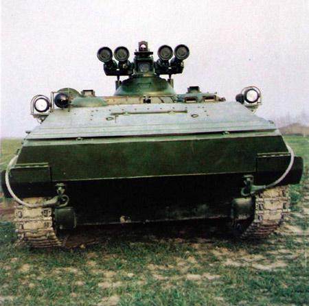 我军现役ZDF89式反坦克导弹发射车揭秘