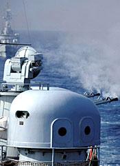 探访中华第一舰:深圳号驱逐舰全揭秘