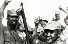 1944年4月,即将从保山开赴前线的十一集团军士兵