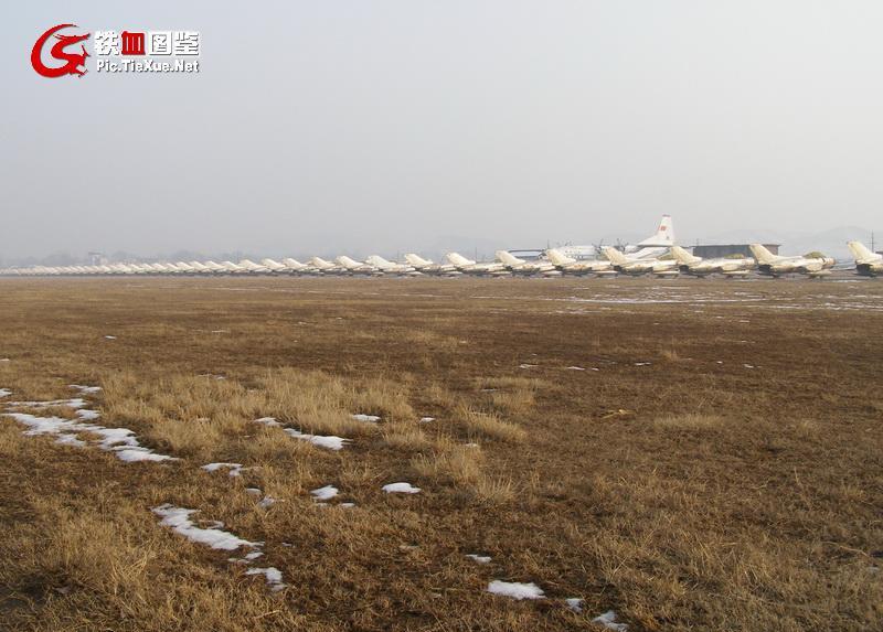 全亚洲最大的中国飞机坟场