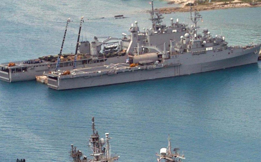 军事资讯_空中拍摄日本冲绳海上自卫队基地 - 军事贴图 - 华声论坛