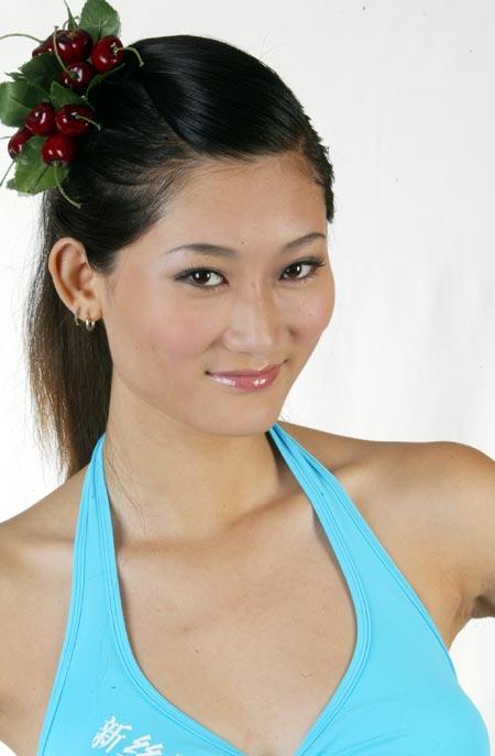 2003新丝路中国模特大赛选手资料--张旭