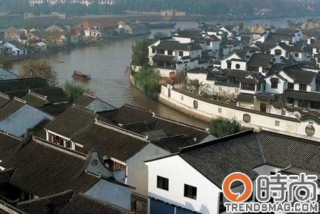 手绘苏州河十八景