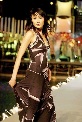 图文:上海国际服装文化节top10时装模特(8)