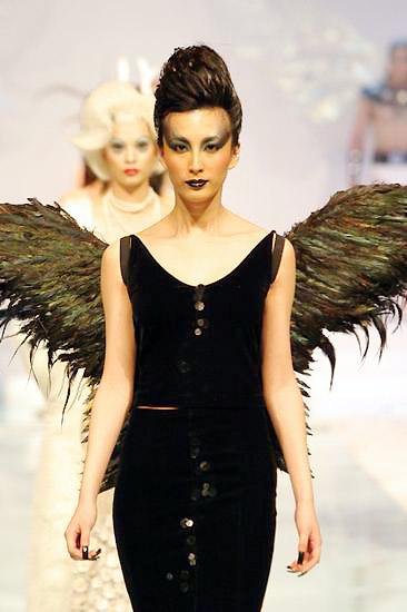安时尚模特学校