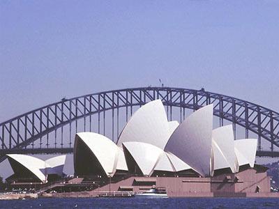 澳大利亚悉尼歌剧院(图)