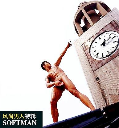 图文:亚洲猛男人体艺术秀_新浪网