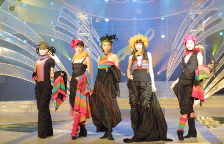 第四届cctv服装设计电视大赛获奖展示图片