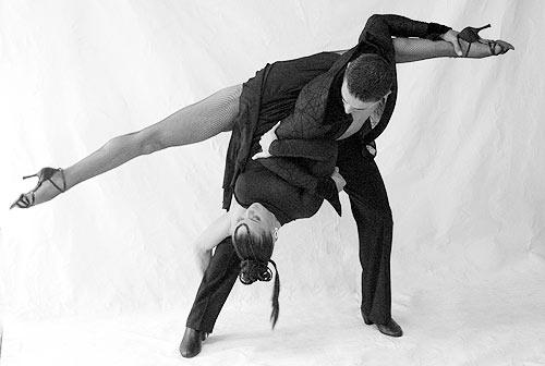 世界拉丁舞冠军组合--威克托与汉娜(组图)