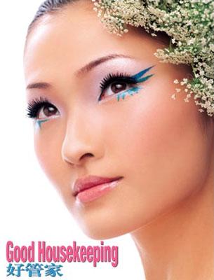 4款创意彩妆绽放春天色彩(组图)(2)