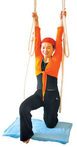 塑绳瑜伽:与身体玩一场翻绳游戏(组图)(2)