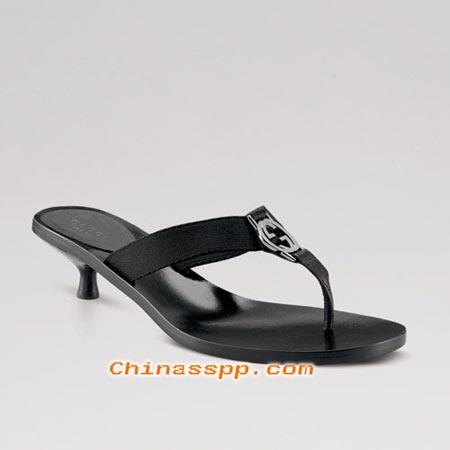 gucci 2006低跟凉拖鞋