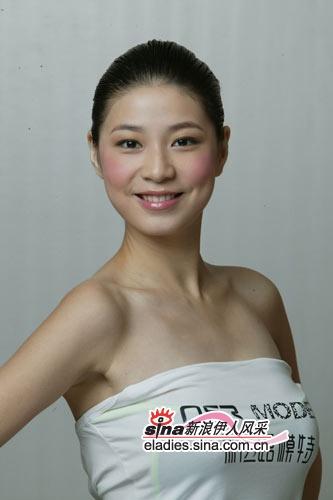 2006新丝路中国模特大赛28号michelle jiang(组图)