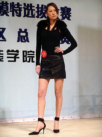江西赛区女模特冠军李莎莎