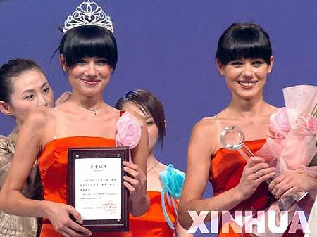丝绸之路国际模特大赛决赛举行(组图)(4)
