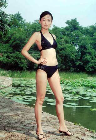 组图:第六届cctv模特大赛沈阳赛区落幕--女模亚军