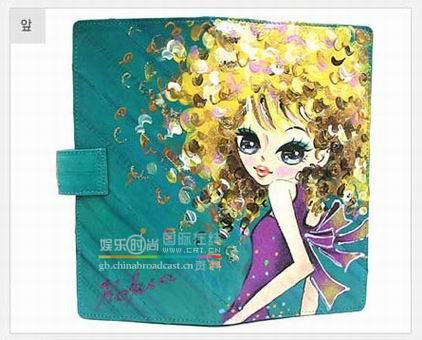 水粉手绘时尚钱包,好漂亮的~~~~口水ing