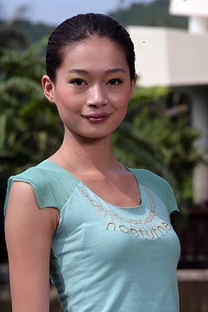 2005新丝路中国模特大赛16号选手曲惠子(组图)