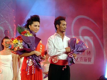 cctv模特电视大赛 正文    第六届cctv模特电视大赛重庆分赛区决赛已