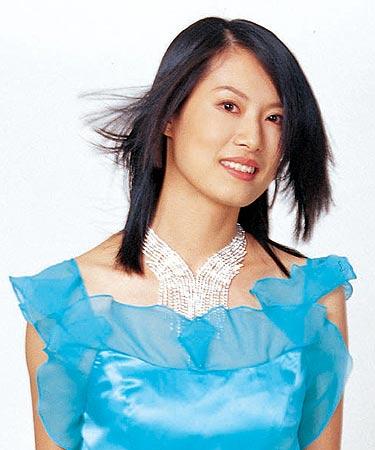 中国模特之星大赛第一届冠军刘英慧(图)