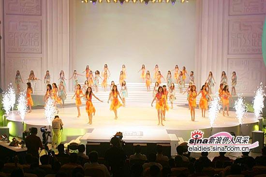 组图:新丝路中国模特大赛明媚开场装表演