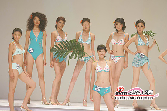 组图:新丝路总决赛水蓝色泳装青春群像