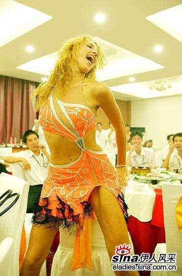 惹火辣妹阿塞拜疆选手想嫁中国夫婿图 竖