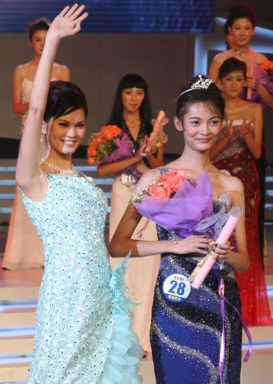 cctv模特电视大赛女模总决赛