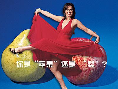 纤体专题:你是苹果还是梨?