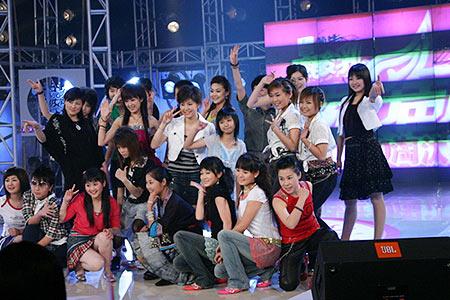 2005长沙唱区十强产生选手亲友有话说(图)