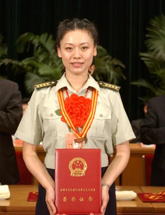 主题 解放军总政歌舞团 有全军最漂亮的女兵 -总政全军最漂亮的女兵