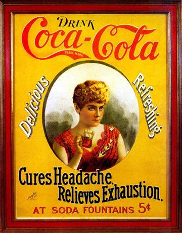 历史上的可口可乐广告海报 新浪论坛图片