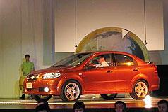 通用发布量产全球车雪佛兰Aveo