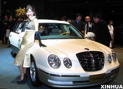图文 韩国起亚汽车公司汉城推出新车 OPIRUS高清图片