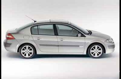 进口雷诺梅甘娜轿车今年上半年在华上市