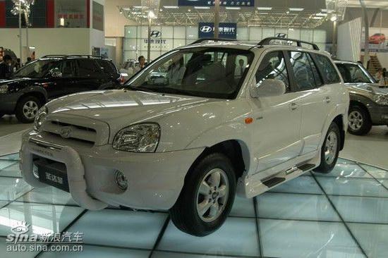 华泰现代圣达菲SUV亮相广州车展年内上市(图)
