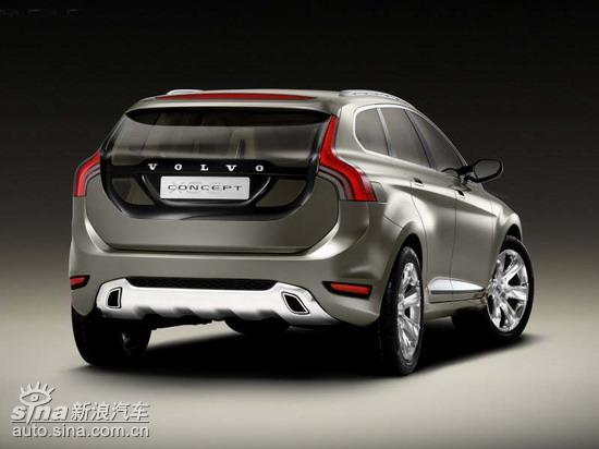 沃尔沃XC60概念车将亮相北美车展高清图片