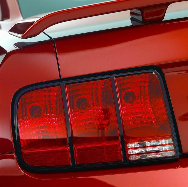 福特野马GT尾灯高清图片