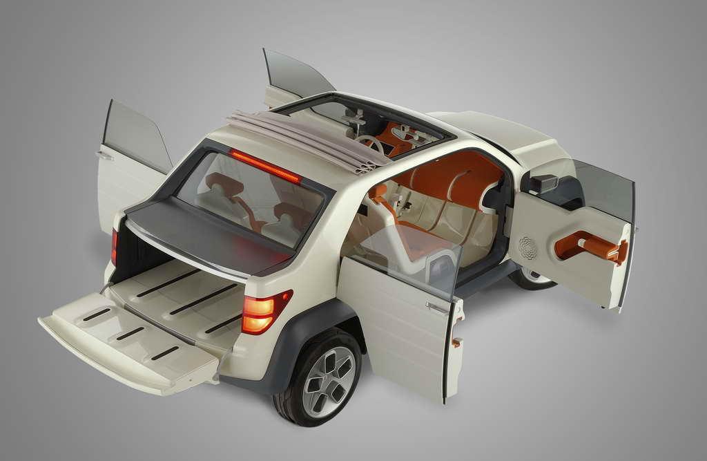 福特U型概念车外观