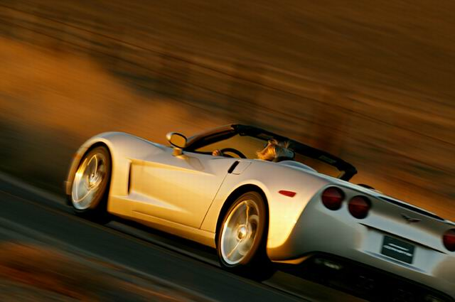 2005款雪佛兰科尔维特(Corvette)敞篷车外观