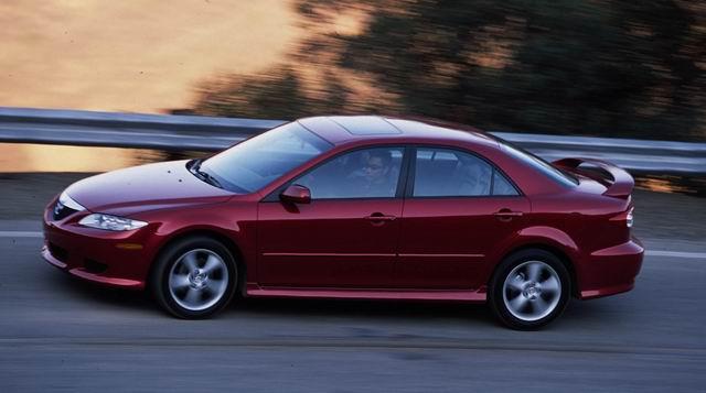 2004款Mazda6外观