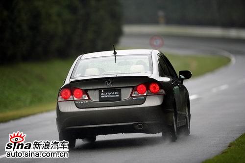 本田CIVIC(思域)试车