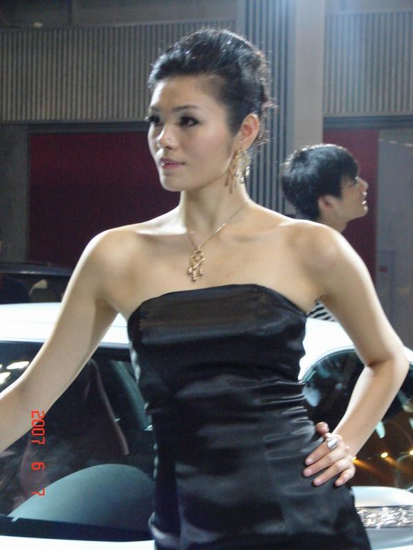 2007重庆车展模特
