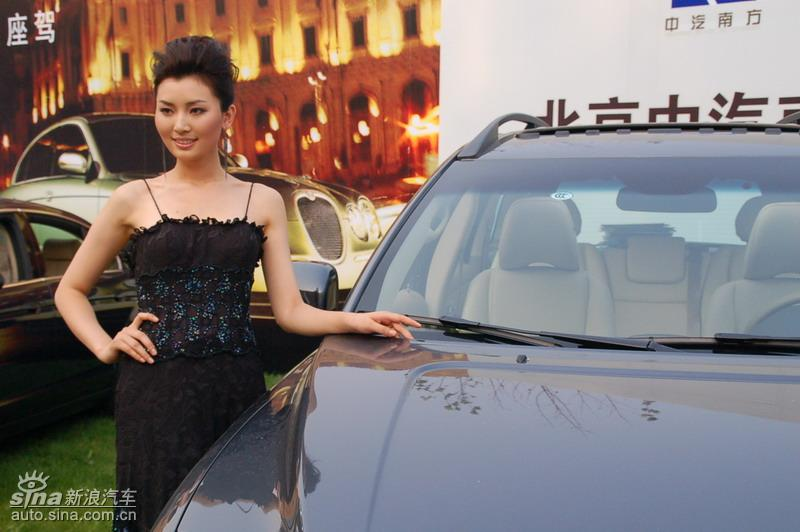 靓丽模特诠释名车