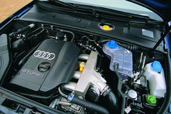 新款奥迪A6发动机高清图片