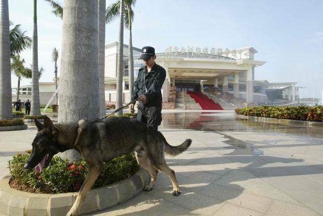为保障博鳌亚洲论坛年会的顺利举行,安全工作不放过一分一毫。