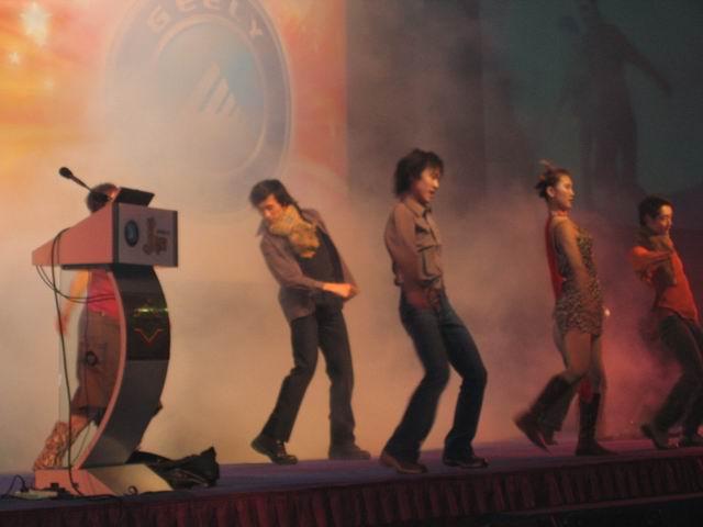 2003年12月28日,吉利美人豹跑车北京上市仪式在北京嘉里中高清图片